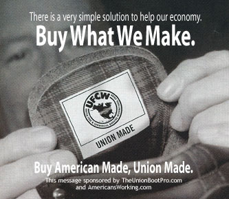 buy american and union made