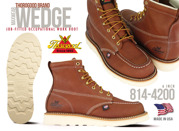 Thorogood - America's Original Work Boot - Since 1892