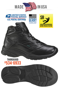 a3cc2af2832 Thorogood Job-Fitted Womens Uniform Style Work Boots get the work done.