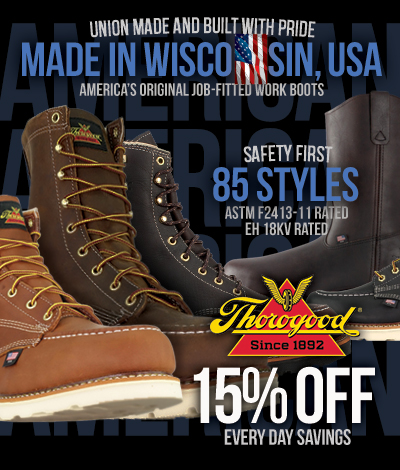 999c80e9b05 Thorogood Work Boots | American Made Since 1892 | Union Made Since 1946