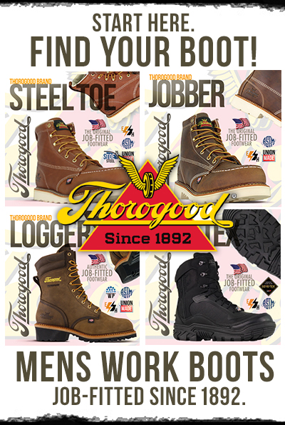 aaaaf5e32c6 Thorogood Work Boots | American Made Since 1892 | Union Made Since 1946
